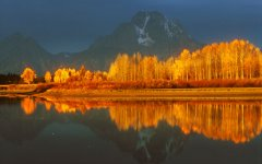 Oxbow Bend, Grand Tetons National Park. Wyoming, USA