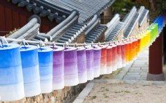 Paper Lanterns at Beomeosa Temple, Busan, South Korea