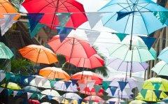 Umbrellas, Mauritius