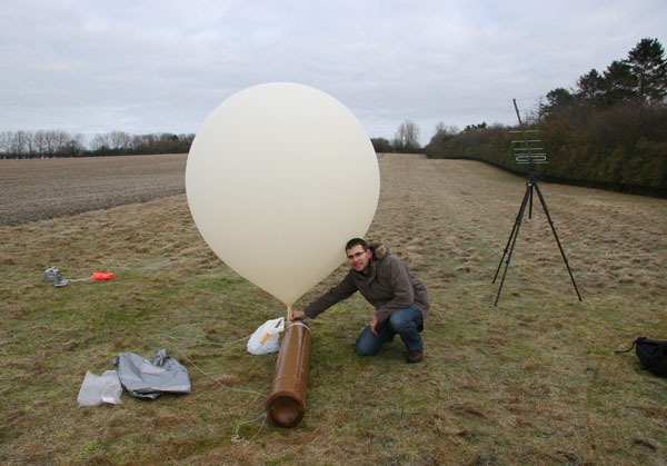 Icarus weather balloon