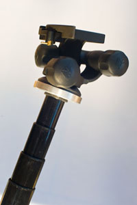 Telescopic pole head
