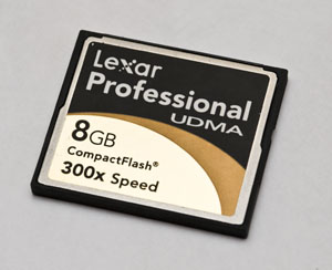 Professional CompactFlash Card