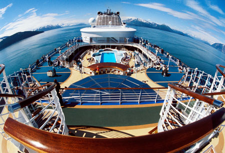 Cruising in Alaska